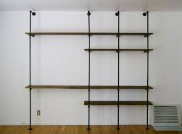 How To Make Closet Shelves by How To Build An Industrial Plumbing Pipe Closet Organizer Part 1