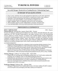 Sample Call Center Resume      Examples in Word  PDF Sample Templates