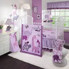 Baby Nursery Accessories Baby Nursery Decor Animal Lover Design Custom Purple Baby