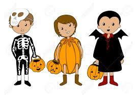 fall festival kids clipart
