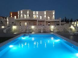 Villa Modern by Orelia Cretan Villas Modern Stone Villa Kalamaki Crete