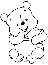 project ideas coloring pages of winnie the pooh as babies 13