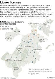 Map Of Boston Neighborhoods by City Pressing State For More Neighborhood Based Liquor Licenses