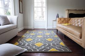 Yellow And Gray Living Room Rugs Yellow Gray Rug Runner Rugs Safavieh Handhooked Damask