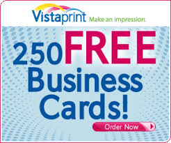 Vistapint Coupon for Free Business Cards