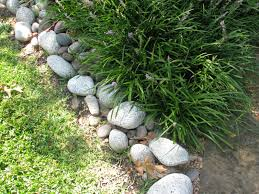 Rock Garden Plants Uk by River Rock Garden Edging Video And Photos Madlonsbigbear Com