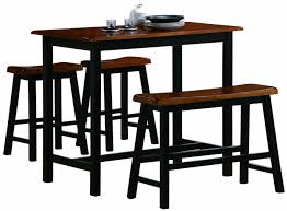 kitchen island counter height table espresso and chairs countertop