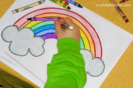 kid color pages for st patrick u0027s day