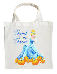 personalized halloween totes cinderella trick or treat bag personalized cinderella halloween