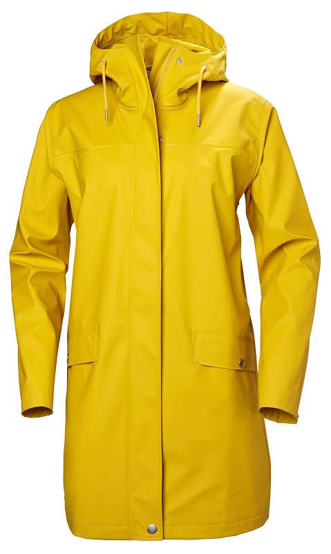 Helly Hansen Moss Rain Coat 53251 Essential Yellow S