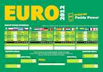 picture of Euro 2012 wallchart images wallpaper