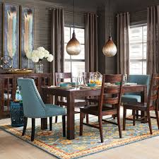 Parsons  Tobacco Brown Dining Table Pier  Imports - Pier one dining room sets