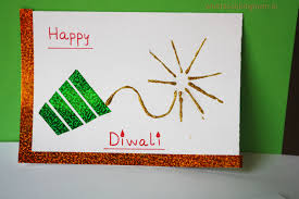 Diwali Decoration In Home Handmade Cards For Diwali Whats Cooking Mom