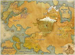 Coldharbour Ce Treasure Map Map Of Tamriel For The Elder Scrolls Online Video Game I U0027m A