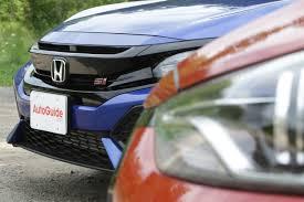 2018 honda civic si vs hyundai elantra sport autoguide com news