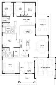 Room Floor Plan Free Modren One Story Floor Plans With Dimensions House Plan Diions