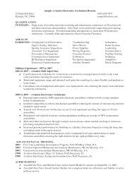 Best Resume Format For Quality Assurance by Aviation Electronics Technician Resume Best Aviation Electronics