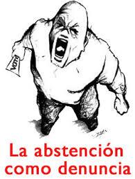 la abstencion como denuncia