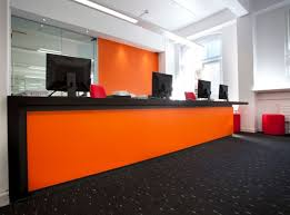 Office Furniture For Reception Area by 72 Best Reception Desks Images On Pinterest Office Designs