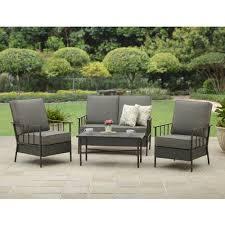 better homes and gardens fairwater 4 piece conversation set