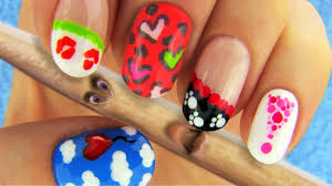 simple nail art videos with toothpi albui