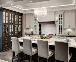 french country kitchens green oven and rustic island white