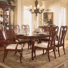 Dining Table Set Traditional American Drew Cherry Grove Oval Leg Table Hayneedle