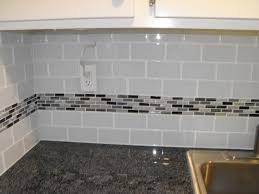 interior wonderful glass subway tile backsplash lush cloud glass