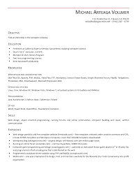resume format objective resume examples interesting 10 best open office resume template resume examples open office resume template objective education knowledge web design and administrative operating system