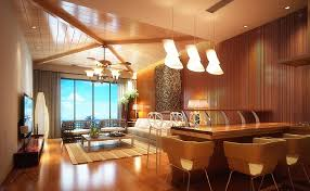 Dining Room Ceiling Fan by 3d Living Dining Room Ceiling Fan And Pendant Lights 3d House