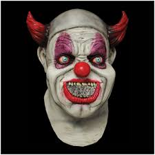 digital dudz clown mask maggot mouth mad about horror