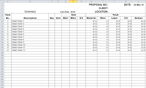 Project Management Spreadsheet Excel Templates