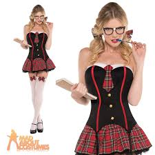 schoolgirl halloween costume nerdy u0026 flirty costume ladies st trinians