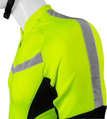 reflective bike jacket high vis reflective cycling jersey made for visibility and