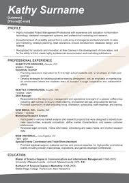 Cover Letter  Resume Examples With No Experience For Education In Management Information Systems And Related
