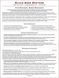 Sample Resume For Senior Manager by Sample Resume Of Hr Executive Gallery Creawizard Com