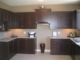 Painting Pressboard Kitchen Cabinets by Brown Painted Kitchen Cabinets