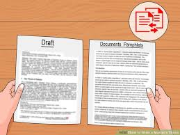 How to Write a Master     s Thesis  with Pictures    wikiHow