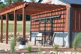 garden u0026 outdoor brown pergola plans with two props ideas with