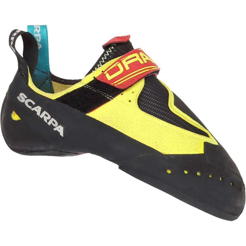 Scarpa Drago Climbing Shoes Yellow Medium 37 70017/000-Yel-37