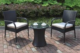 Black Wrought Iron Patio Furniture Sets by Dining Room Marvelous Outdoor Bistro Set Create Enjoyable Outdoor