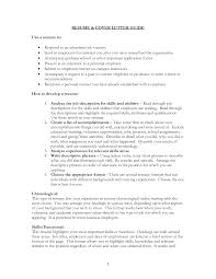 How To Make Resume For Job How To Make A Cover Letter For Jobs Application Letter Sample