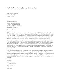 Best Photos of Letter Applying For Jobs Examples   Job Application