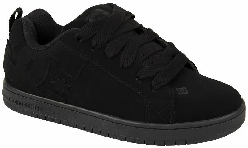 DC Court Graffik Sneaker Black, 12