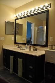 home decor framed bathroom vanity mirrors grey bathroom wall