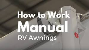 How To Work A Manual Rv Awning Youtube