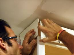 Installing Kitchen Cabinets Diy by How To Install Cabinet Crown Molding How Tos Diy
