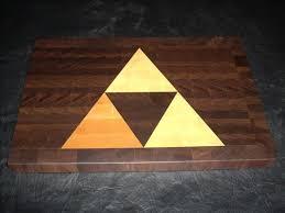 Cool Cutting Boards Coolest Latest Gadgets U2013 Legend Of Zelda Triforce Cutting Board