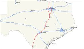 Texas Map Austin by Interstate 35 In Texas Wikipedia