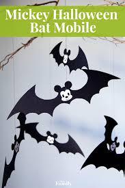 mickey halloween bat mobile disney family